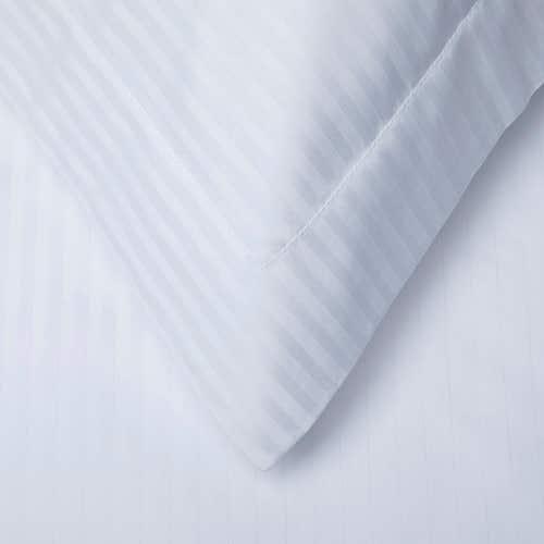 500 Hilos Algodón Egipcio Micro Rayado - Funda de almohada