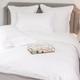 Ropa de cama Mónaco 550 Hilos Satén Algodón Egipcio- Borde Blanco